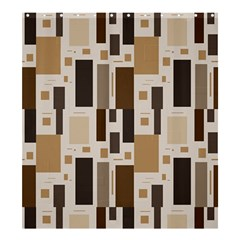 Pattern Wallpaper Patterns Abstract Shower Curtain 66  x 72  (Large)