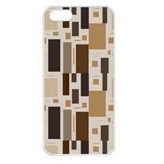 Pattern Wallpaper Patterns Abstract Apple iPhone 5 Seamless Case (White)