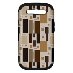 Pattern Wallpaper Patterns Abstract Samsung Galaxy S III Hardshell Case (PC+Silicone)