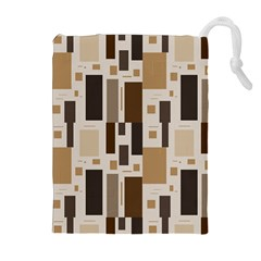 Pattern Wallpaper Patterns Abstract Drawstring Pouches (Extra Large)