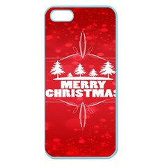 Red Bokeh Christmas Background Apple Seamless iPhone 5 Case (Color)
