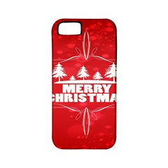 Red Bokeh Christmas Background Apple iPhone 5 Classic Hardshell Case (PC+Silicone)