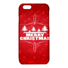 Red Bokeh Christmas Background iPhone 6/6S TPU Case