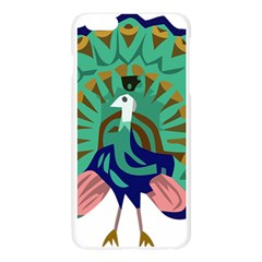 Burma Green Peacock National Symbol  Apple Seamless iPhone 6 Plus/6S Plus Case (Transparent)