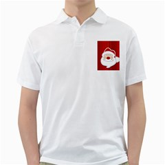 Santa Claus Xmas Christmas Golf Shirts