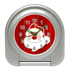 Santa Claus Xmas Christmas Travel Alarm Clocks