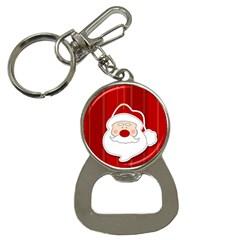 Santa Claus Xmas Christmas Button Necklaces