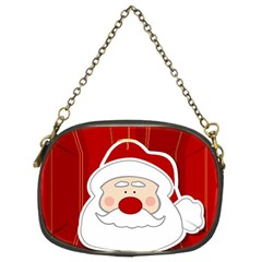 Santa Claus Xmas Christmas Chain Purses (Two Sides)