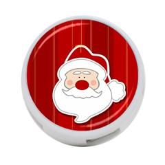 Santa Claus Xmas Christmas 4-Port USB Hub (Two Sides)