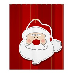 Santa Claus Xmas Christmas Shower Curtain 60  x 72  (Medium)