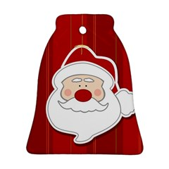 Santa Claus Xmas Christmas Ornament (Bell)