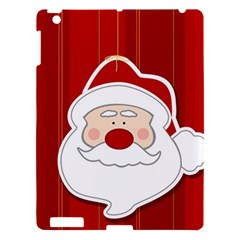 Santa Claus Xmas Christmas Apple iPad 3/4 Hardshell Case