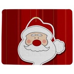 Santa Claus Xmas Christmas Jigsaw Puzzle Photo Stand (Rectangular)