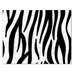 Seamless Zebra Pattern Rectangular Jigsaw Puzzl