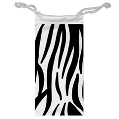Seamless Zebra Pattern Jewelry Bag