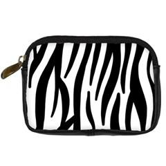 Seamless Zebra Pattern Digital Camera Cases