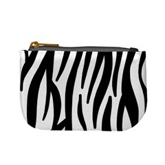 Seamless Zebra Pattern Mini Coin Purses