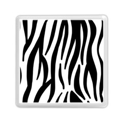 Seamless Zebra Pattern Memory Card Reader (Square)