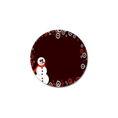 Snowman Holidays, Occasions, Christmas Golf Ball Marker (4 pack)