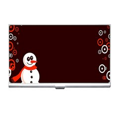 Snowman Holidays, Occasions, Christmas Business Card Holders