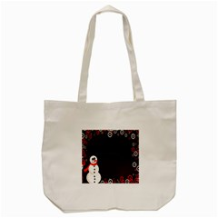 Snowman Holidays, Occasions, Christmas Tote Bag (Cream)