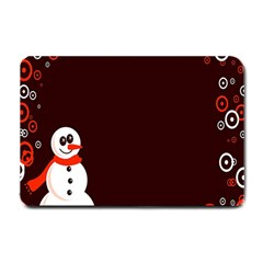 Snowman Holidays, Occasions, Christmas Small Doormat