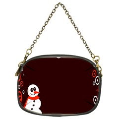 Snowman Holidays, Occasions, Christmas Chain Purses (One Side)
