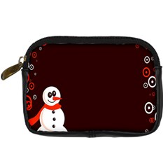 Snowman Holidays, Occasions, Christmas Digital Camera Cases