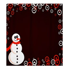 Snowman Holidays, Occasions, Christmas Shower Curtain 66  x 72  (Large)