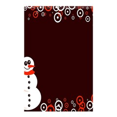 Snowman Holidays, Occasions, Christmas Shower Curtain 48  x 72  (Small)