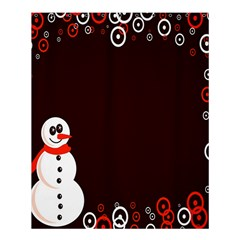 Snowman Holidays, Occasions, Christmas Shower Curtain 60  x 72  (Medium)