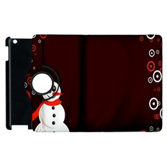Snowman Holidays, Occasions, Christmas Apple iPad 3/4 Flip 360 Case