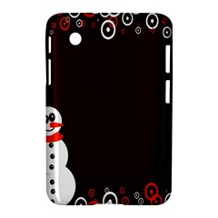 Snowman Holidays, Occasions, Christmas Samsung Galaxy Tab 2 (7 ) P3100 Hardshell Case