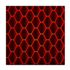 Snake Abstract Pattern Tile Coasters