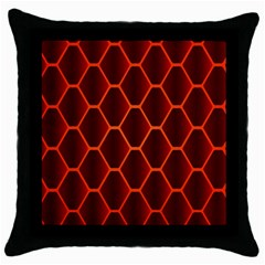 Snake Abstract Pattern Throw Pillow Case (Black)
