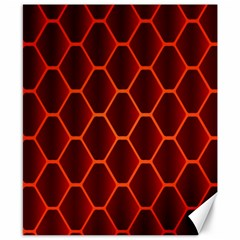 Snake Abstract Pattern Canvas 8  x 10
