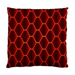 Snake Abstract Pattern Standard Cushion Case (One Side)