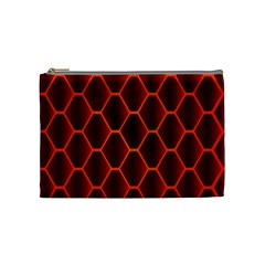 Snake Abstract Pattern Cosmetic Bag (Medium)