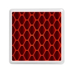 Snake Abstract Pattern Memory Card Reader (Square)