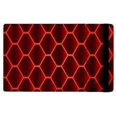 Snake Abstract Pattern Apple iPad 3/4 Flip Case