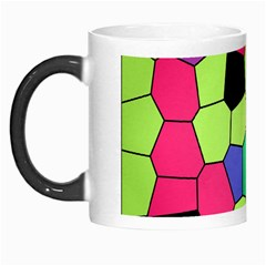 Stained Glass Abstract Background Morph Mugs