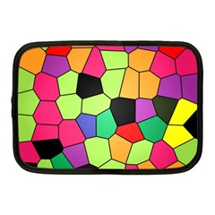 Stained Glass Abstract Background Netbook Case (Medium)