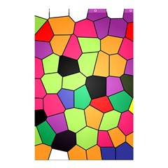 Stained Glass Abstract Background Shower Curtain 48  x 72  (Small)