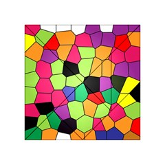Stained Glass Abstract Background Acrylic Tangram Puzzle (4  x 4 )