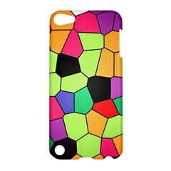 Stained Glass Abstract Background Apple iPod Touch 5 Hardshell Case