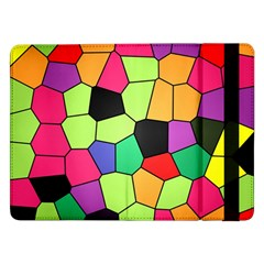Stained Glass Abstract Background Samsung Galaxy Tab Pro 12.2  Flip Case