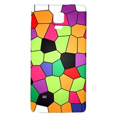 Stained Glass Abstract Background Galaxy Note 4 Back Case
