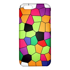 Stained Glass Abstract Background iPhone 6/6S TPU Case