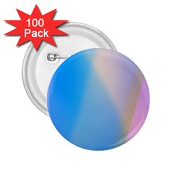 Twist Blue Pink Mauve Background 2.25  Buttons (100 pack)