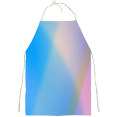 Twist Blue Pink Mauve Background Full Print Aprons